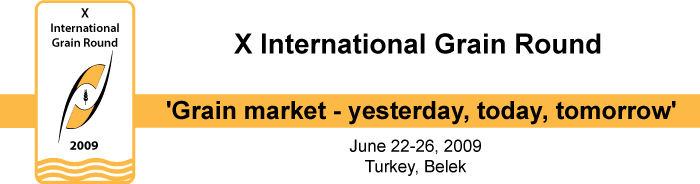 "X International Grain Round ""Grain market – yesterday, today, tomorrow"""
