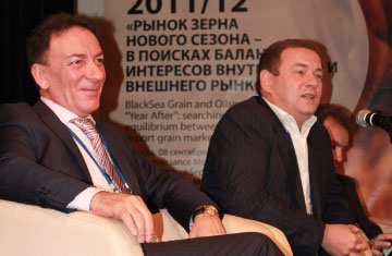 Arkady Zlochevskiy and Evgeny Gromyko