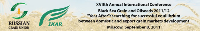 XVIIth Annual International Conference Black Sea Grain and Oilseeds 2011/12